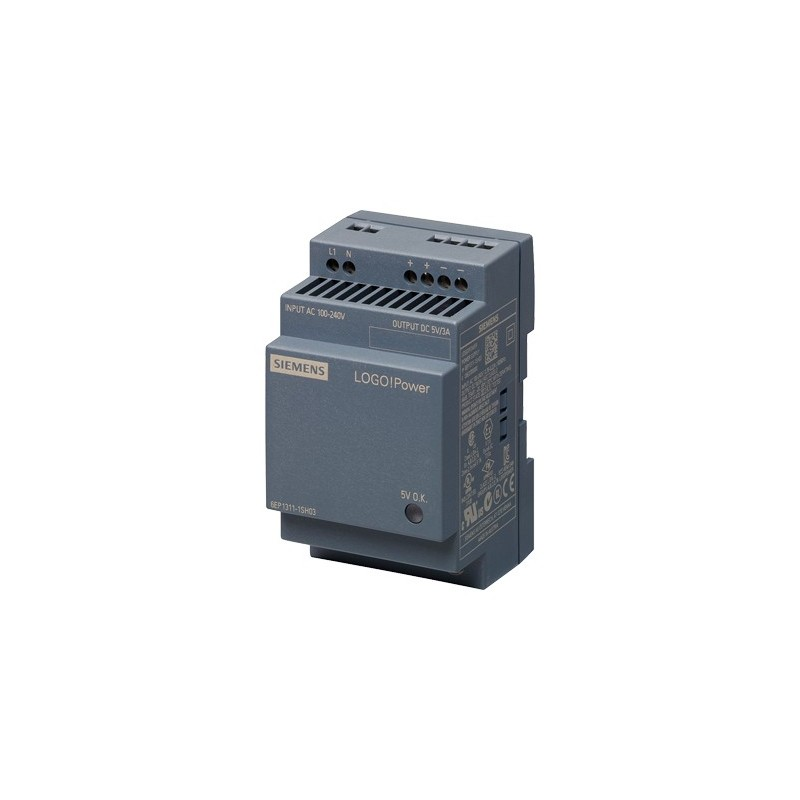 Siemens 6EP1311-1SH03 LOGO!POWER 5 V/3 A STABILIZED POWER SUPPLY INPUT