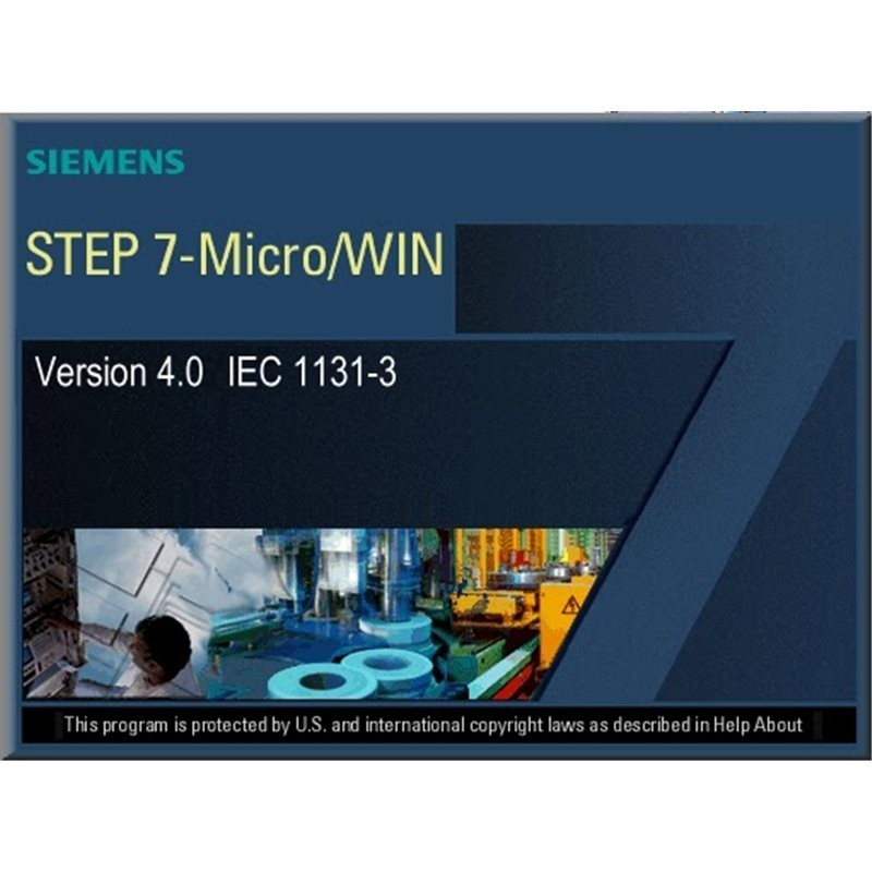 Siemens 6ES7810-2CC03-0YX3 SIMATIC S7, STEP7-MICRO/WIN V4.0 UPGR., SINGLE LICENSE