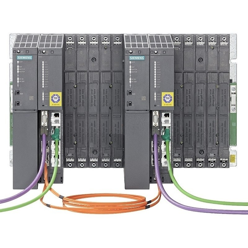 6ES7400-0HR00-4AB0 SIMATIC S7-400H, 412-3H SYSTEM-BUNDLE H-SYSTEM WITH 2 X MC 1MB RAM