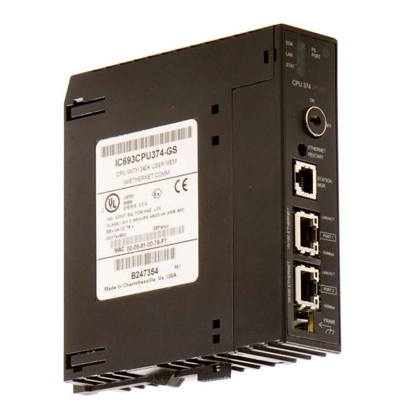 IC693CPU374 GE FANUC CPU 374 MODULE